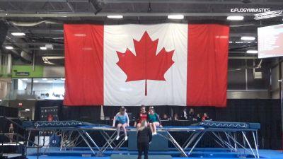 Celentano/ Ranieri - Trampoline, Synergy Gymnastics - 2019 Elite Canada T and G