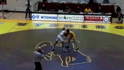 165 lbs Cole Moody, Wyoming vs Anthony Valencia, Arizona State