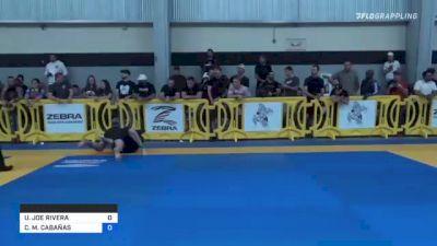 URBANO JOE RIVERA vs CARL M. CABAÑAS 2021 Pan IBJJF Jiu-Jitsu No-Gi Championship