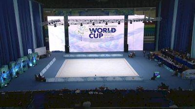 Full Replay - 2019 Tashkent World Cup - Rhythmic - Apr 21, 2019 at 6:56 AM UTC