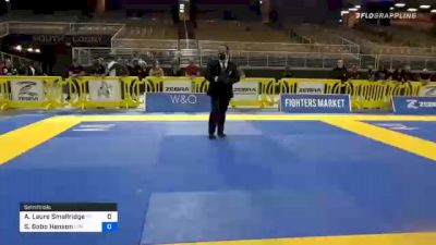 Amber Laure Smallridge vs Stephanie Bobo Hanson 2020 World Master IBJJF Jiu-Jitsu Championship
