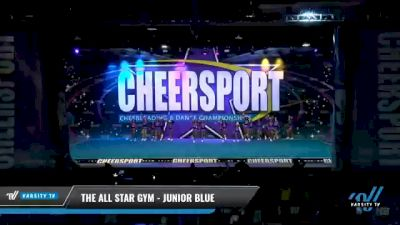 The All Star Gym - Junior Blue [2021 L2 Junior - D2 - Small - A Day 2] 2021 CHEERSPORT National Cheerleading Championship