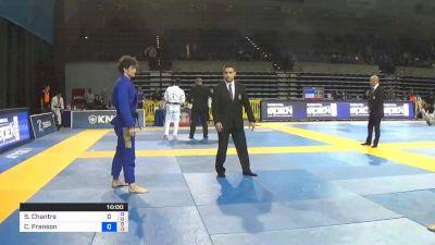 Samir Chantre vs Cole Franson 2019 Pan Jiu-Jitsu IBJJF Championship
