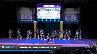 New Jersey Spirit Explosion - Fab 5 [2021 L6 Senior - Small Day 1] 2021 ACDA: Reach The Beach Nationals