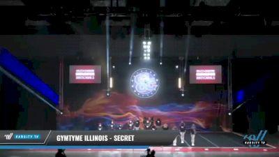 GymTyme Illinois - Secret [2021 L3 Junior - Small - A Day 1] 2021 GLCC: The Showdown Grand Nationals