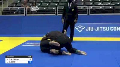 KLÉBER F. N. FARIAS vs LUKE ELDERS 2021 World IBJJF Jiu-Jitsu No-Gi Championship
