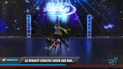 AZ Dynasty Athletic Cheer and Dance - Senior - Jazz [2021 Senior - Jazz Day 2] 2021 The U.S. Finals: Phoenix