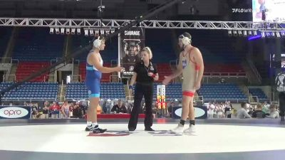 220 lbs Consolation - Gary Powell, Ohio vs Kalob Runyon, Iowa