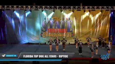 Florida Top Dog All Stars - Riptide [2021 L3 Junior - Small Day 2] 2021 The STATE DI & DII Championships