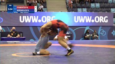 45 kg 1/2 Final - Nikita Dementiev, Ukraine vs Nurbolot Berdikulov, Kyrgyzstan