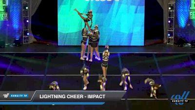 Lightning Cheer - Impact [2020 L1 Junior Day 2] 2020 Feel The Power East