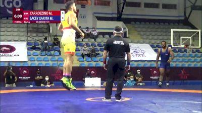 97 kg 3rd Place - Marcos Carrozzino, Brazil vs Maxwell Lemar Lacey Garita, Costa Rica