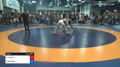 65 kg Prelims - Hunter Lewis, Wolfpack Wrestling Club vs Beau Bartlett, Nittany Lion Wrestling Club