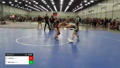 106 lbs Consolation - Destiny Jones, Team Tulsa Wrestling Club vs Taylor German, Iowa