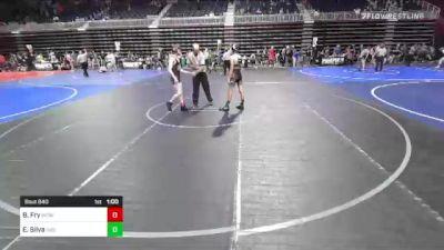 116 lbs 2nd Place - Brock Fry, Wcwc vs Ethan Silva, Individual