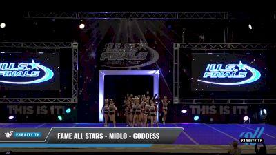 FAME All Stars - Midlo - Goddess [2021 L2.1 Junior - PREP Day 1] 2021 The U.S. Finals: Ocean City