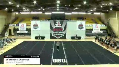 GAME 6: California Baptist University vs Oklahoma Baptist University