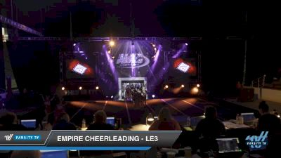 Empire Cheerleading - LE3 [2019 Senior - D2 3 Day 2] 2019 US Finals Pensacola