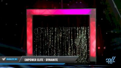 Empower Elite - Dynamite [2018 Youth Prep 2 Day 1] US Finals: Omaha