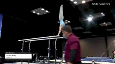 Asher Hong - Parallel Bars, Region 3 - 2021 Winter Cup & Elite Team Cup