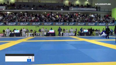 MARIA EDUARDA vs GLAUCIA BRAGA 2019 European Jiu-Jitsu IBJJF Championship