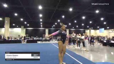 Sloane Blakely - Floor, North Gym #1252 - 2021 USA Gymnastics Development Program National Championships