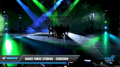 Dance Force Studios - Cohesion [2021 Mini - Hip Hop - Small Day 3] 2021 CSG Dance Nationals