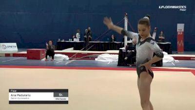 Ana Padurariu - Floor, Gemini Gymnastics - 2019 Elite Canada - WAG