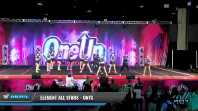 Element All Stars - Onyx [2021 L6 Senior Coed Open - Small Day 2] 2021 One Up National Championship