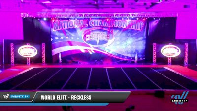 World Elite - Reckless [2021 L1 Youth Day 1] 2021 ACP: Midwest World Bid National Championship