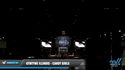 GymTyme Illinois - Candy Girls [2021 L2 Youth - Small Day 2] 2021 The U.S. Finals: Louisville