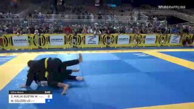 ZION MALIK GUSTAV MAILANDT vs MAXIMUS COJZOO LO 2021 Pan Kids Jiu-Jitsu IBJJF Championship