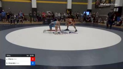 65 kg Consolation - Jonathan Miers, Princeton Wrestling Club vs Gabriel Onorato, Pennsylvania RTC