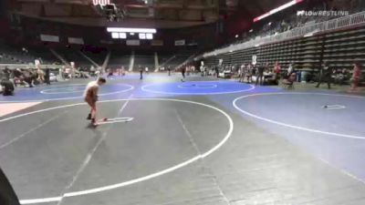82 kg Rr Rnd 4 - Christopher Grossman, Billings WC vs Evan Strom, Panhandle Wr Ac