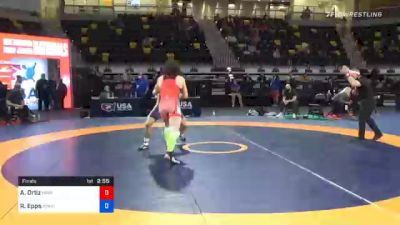 77 kg Final - Alec Ortiz, Minnesota Storm vs Ryan Epps, Minnesota Storm