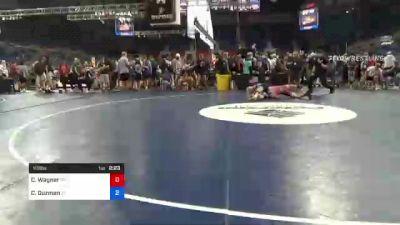113 lbs Consi Of 8 #1 - Carson Wagner, Pennsylvania vs Christian Guzman, Florida
