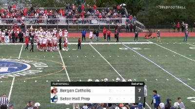 Replay: Bergen Catholic vs Seton Hall Prep | Oct 23 @ 1 PM