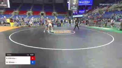 126 lbs Quarterfinal - Aliaksandr Kikiniou, New York vs Mason Gibson, Pennsylvania