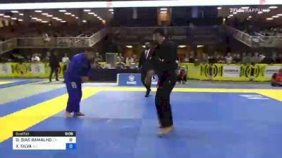 DIEGO DIAS RAMALHO vs XAVIER SILVA 2021 Pan Jiu-Jitsu IBJJF Championship