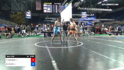 220 lbs Cons 16 #2 - Parker Schlater, Wyoming vs Bradley Smith, Ohio