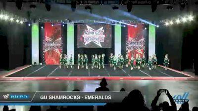 GU Shamrocks - Emeralds [2021 L3 Senior - D2 - Medium Day 2] 2021 JAMfest Cheer Super Nationals