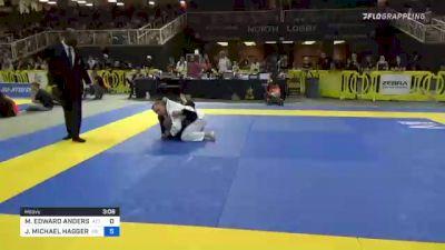 MICHAEL EDWARD ANDERSON vs JOHN MICHAEL HAGGERTY 2021 Pan Jiu-Jitsu IBJJF Championship