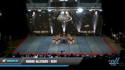 Rogue Allstars - Riot [2021 L4 Senior - Small Day 1] 2021 The U.S. Finals: Pensacola