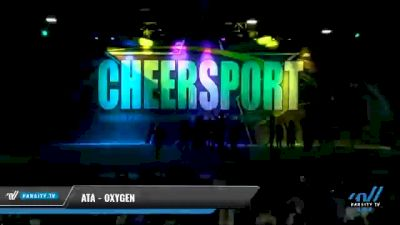 ATA - Oxygen [2021 L4.2 Senior Coed Day 2] 2021 CHEERSPORT National Cheerleading Championship