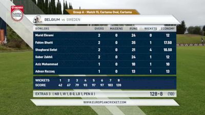 Replay: Belgium vs Sweden | Sep 15 @ 5 PM