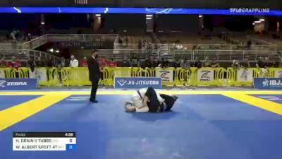 HERBERT ORAIN II TUBBS vs WILLIAM ALBERT SPOTT 4TH 2021 Pan Jiu-Jitsu IBJJF Championship