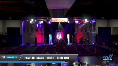 FAME All Stars - Midlo - Code Red [2021 L3 Senior - Small Day 2] 2021 Queen of the Nile: Richmond