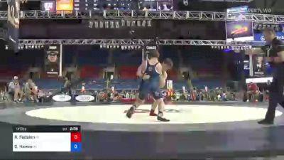 145 lbs Quarterfinal - Richard Fedalen, Maryland vs Gunnar Hamre, Wisconsin