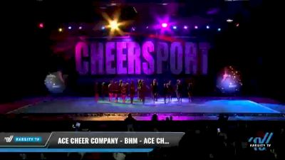 ACE Cheer Company - BHM - ACE Chattahoochees [2021 L2 Junior - Medium Day 2] 2021 CHEERSPORT National Cheerleading Championship