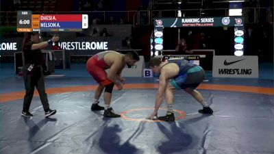 125 kg Amarveer DHESI, CAN vs Anthony Robert NELSON, USA